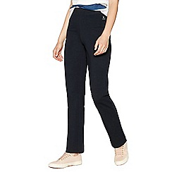 Maine New England - Navy Slim Leg Jersey Jogging Bottoms