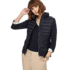 Maine New England - Navy packaway padded gilet