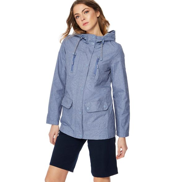 yachting jacket resistant hooded New England Maine Blue shower Y6qn0