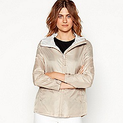 Maine New England - Natural shower resistant hooded jacket