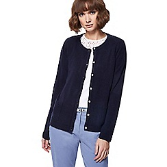 Maine New England - Navy two pocket cardigan