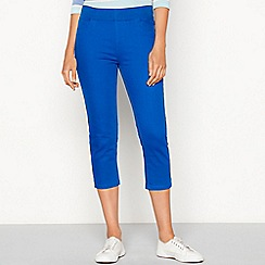 Maine New England - Bright blue cropped jeggings