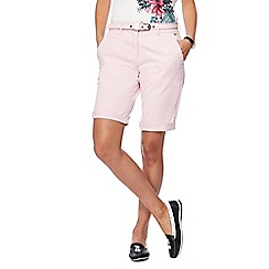 Maine New England - Light pink chino shorts