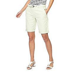 Maine New England - Light green chino shorts