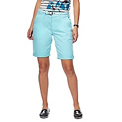 Maine New England - Turquoise chino shorts