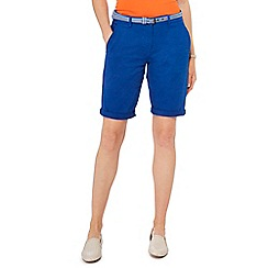 Maine New England - Bright blue chino shorts