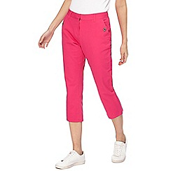 Maine New England - Pink cropped trousers