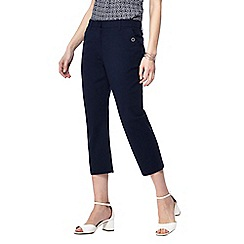 Maine New England - Navy blue cropped trousers