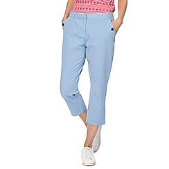 Maine New England - Light blue cropped trousers