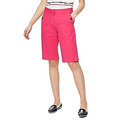 Maine New England - Pink stretch shorts