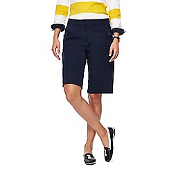 Maine New England - Navy stretch shorts