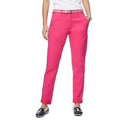 Maine New England - Pink belted chinos