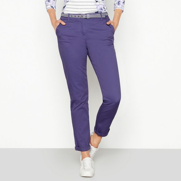 chevron Maine chino New Purple belt trousers England AAt0R