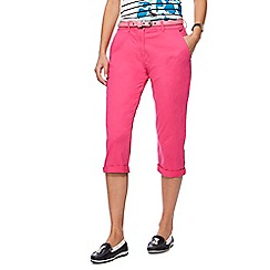 Maine New England - Pink cropped chinos
