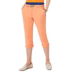 Maine New England - Orange cropped chinos
