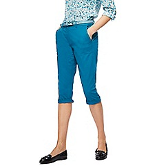 Maine New England - Turquoise cropped chinos