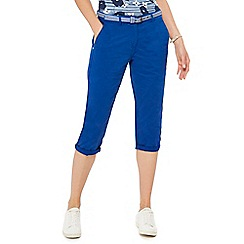 Maine New England - Bright blue cropped chinos