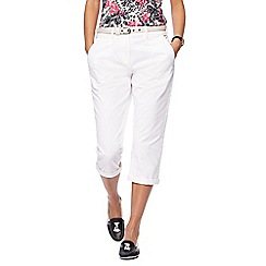 Maine New England - White cropped chinos
