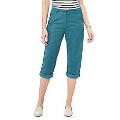 Maine New England - Turquoise cropped trousers