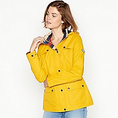 Maine New England - Dark yellow rain resistant jacket
