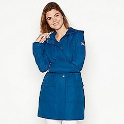 Maine New England - Turquoise rain resistant jacket