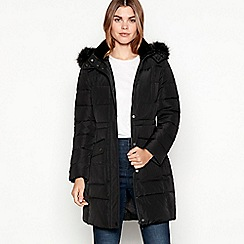 Maine New England - Black duck down puffer coat