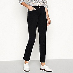 Maine New England - Black stretch straight leg jeans