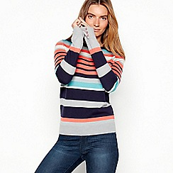 Maine New England - Multi-coloured striped knit jumper