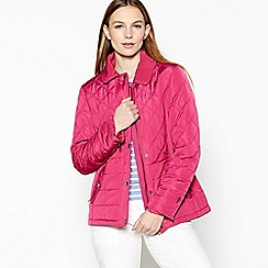 Maine New England - Pink quilted jacket