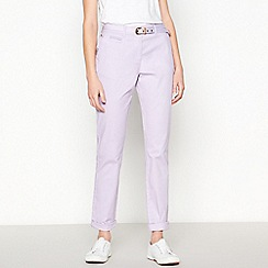 Maine New England - Lilac Belted Chinos