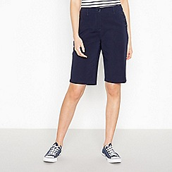 Maine New England - Navy 'Two Way Stretch' Sailor Shorts