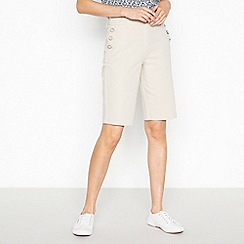 Maine New England - Natural 'Two Way Stretch' Sailor Shorts