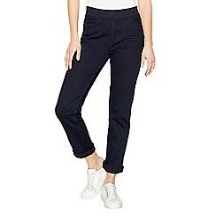 Maine New England - Blue straight leg elasticated waist jeggings