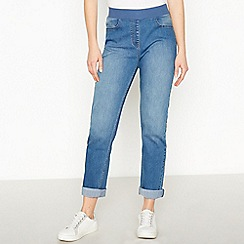 Maine New England - Mid Blue Straight Leg Jeggings