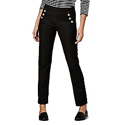 Maine New England - Black 'Sailor' jeggings