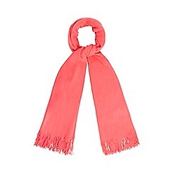 Red Herring - Bright pink supersoft scarf