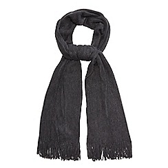 Red Herring - Grey supersoft scarf