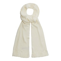 Red Herring - Cream supersoft scarf