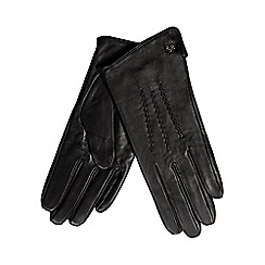 RJR.John Rocha - Black leather gloves