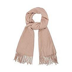 RJR.John Rocha - Pink woven scarf with wool