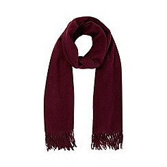 RJR.John Rocha - Purple woven scarf with wool