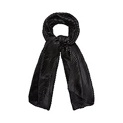 Mantaray - Black pleated scarf