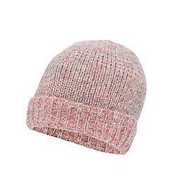 Mantaray - Pink knitted ombre hat