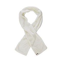 Mantaray - Cream fleece scarf