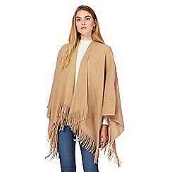 The Collection - Light tan ribbed wrap