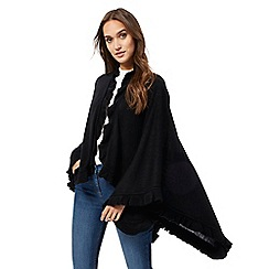 The Collection - Black frill trim wrap