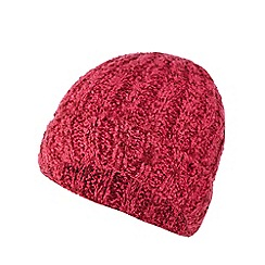 The Collection - Pink boucle beanie