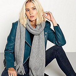 Faith - Grey supersoft scarf