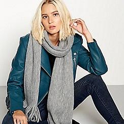 Faith - Grey supersoft scarf