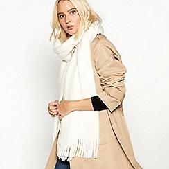 Faith - Ivory super soft scarf